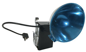 Polaroid Model 268 Accessory FLASH With Blue Filter Uses M3 Bulb