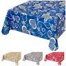 Tovaglia cucina cotone bordata varie misure copri tavolo casa tessuto cuori