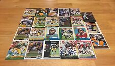 TONY BENNETT LOT OF 23 FOOTBALL CARDS GREEN BAY PACKERS INDY COLTS LB OLE MISS