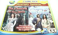 Mystery Legends 2 Game Pack PC The Phantom Of The Opera & Beauty & The Beast NEW