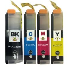Compatible Multipack Ink Cartridges Brother LC223Bk, LC223C, LC223M, LC223Y