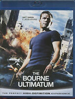 THE BOURNE ULTIMATUM - Matt Damon - 2009 - BLU-RAY nuovo sigillato [dv58]