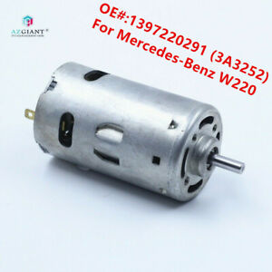 For Mercedes-Benz W220 S280 S320 S350 S430 S500 S600 Door Lock Pump Vaccum Motor