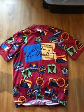 Vintage Aussie Ride The Rockies Cycling Jersey Mens Large Colorado Coors