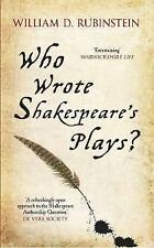 Who Wrote Shakespeare's Plays?, New, Books, mon0000122583