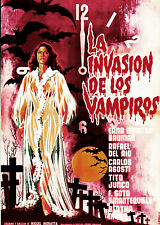 INVASION OF THE VAMPIRES (1963) 2 Versions (in English & in Spanish) NTSC NewDVD