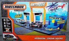 MATCHBOX MISSION: CRIME SQUAD PLAYSET 2013
