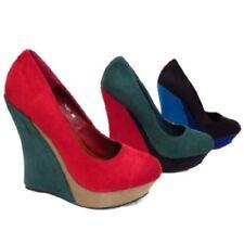 Zapatos de tacón de mujer plataformas sintético talla 40