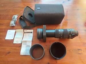 Camera Lens Sigma AF 150-600mm f5-6.3 DG OS HSM Sport Nikon Mount