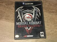 Mortal Kombat Deadly Alliance Nintendo Gamecube Complete CIB w/Reg Authentic