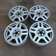 Set 4 cerchi lega 16X6,5J 5x100 ET42 Volkswagen Polo Mk3 94-03 6N 43542 80-5-D-2