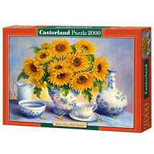 New Castorland Jigsaw Puzzle 2000 Pieces - Golden Blue - C200481