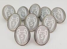 Liga de Campeones 5 veces insignia de honor pin-Liverpool/B. Múnich/Barcelona