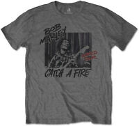 BOB MARLEY Catch A Fire World Tour T-SHIRT OFFICIAL MERCHANDISE