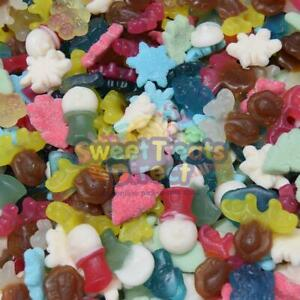Christmas Sweets Pick n Mix Festive Themed Party Candy Stocking Fillers