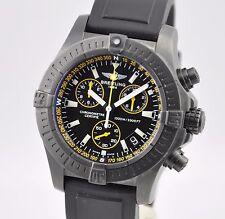 Breitling Avenger Seawolf Chronograph BlackSteel Yellow Code M73390 LIMITED B&P