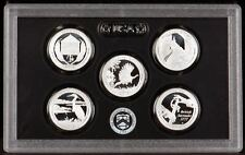 2015 Silver Proof State Quarter Set 90% Silver - No Box or COA's - 5 coins