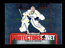 2016-17 Upper Deck Hockey Parkhurst  #DN8  Pekka Rinne  Protectors of the Net