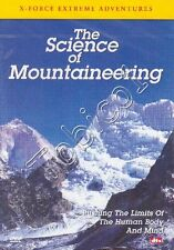 THE SCIENCE OF MOUNTAINEERING - GUY COTTER - MAKALU - DVD SEALED