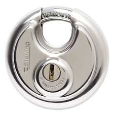 Sterling 60mm Stainless Steel Disc Padlock