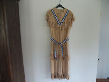 Womens Native American Light Brown Halloween Costume - worn once in Germany