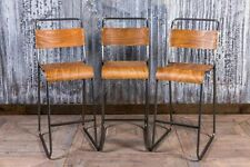 More details for industrial style stacking stool  breakfast bar stool stackable bar stools