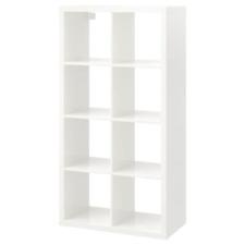 IKEA Kallax Shelf Unit High Gloss White 30 3/8x57 7/8 103.057.41