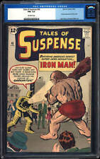 Tales of Suspense #40 CGC 6.5 1963 2nd Iron Man after #39! Avengers! H7 101 cm