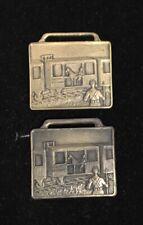 2 American Legion Medals-40 Hommes Et 8 Chevaux