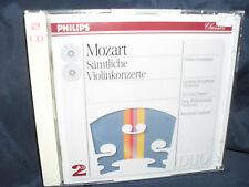 Mozart-tutte le violinconzerte-Grumiaux - 2cds