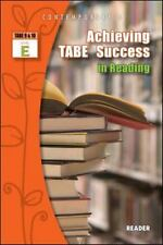 Achieving Tabe Success In Reading, Level E, Reader (contemporary's Achieving ...