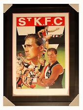 RARE - AFL - Tony Lockett Brownlow  Print - Ready to Hang