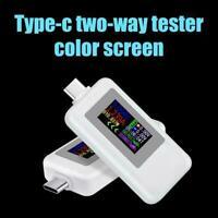 USB Typ-C Power Tester Spannung Strom Kapazität Meter 5A Multimeter 4-30V O0B0
