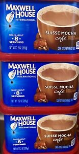 Maxwell House International Suisse Mocha Cafe 7.2 oz ( Pack of 3)
