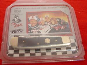 "Frost Dale Earnhardt NASCAR RACING 4-1/4"" Trapper Knife FACTORY SEALED"