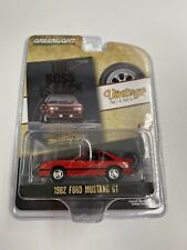 1:64 Greenlight 1982 Ford Mustang GT Vintage Ad Cars by Raceface-Modelcars