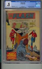 FLASH #123 CGC .5 1ST EARTH-TWO GOLDEN AGE FLASH CLASSIC COVER