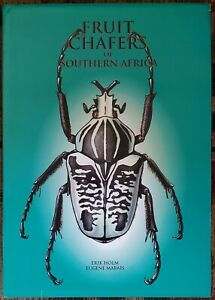 Fruit Chafers of Southern Africa - Erik Holm & Eugene Marais RARE Beetles Insect