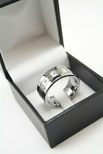Sigma Chi Tungsten ring with laser etched letters NEW!