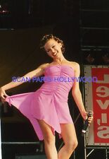 KYLIE MINOGUE 90s  DIAPOSITIVE DE PRESSE ORIGINAL VINTAGE SLIDE 35MM  #23