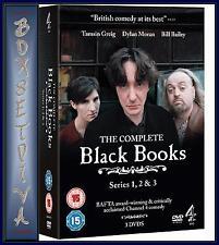 BLACK BOOKS  - COMPLETE SERIES 1 2 & 3  **** BRAND NEW DVD BOXSET***
