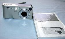 HP PhotoSmart M305 3.2 MP Digital Camera - Silver -9X Zoom AF