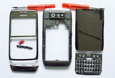 Silver Grey Fascia housing cover facia case faceplate for Nokia E71
