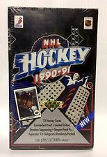 1990 Upper Deck low series NHL Hockey Card Box 36 packs Factory Sealed