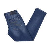Rock & Republic Mens Slim Straight Fit Blue Jeans Denim Pants New Nwt