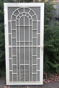 Fly screen door NO KEY 91.2 cms (width) x 197.4 cms (height) x 2cm (depth)