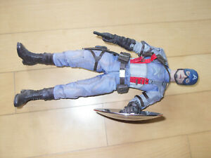 Hot Toy 1/6 Scale MMS240 Captain America in faded very badly