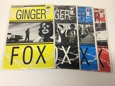 GINGER FOX #1-4 (COMICO/1988/PANDER BROS/MIKE BARON121716) COMPLETE SET OF 4