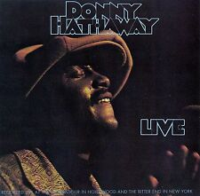 DONNY HATHAWAY : LIVE / CD