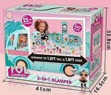 Camper lol surprise 2 in 1 lol glamper camper delle lol originale lol surprise !